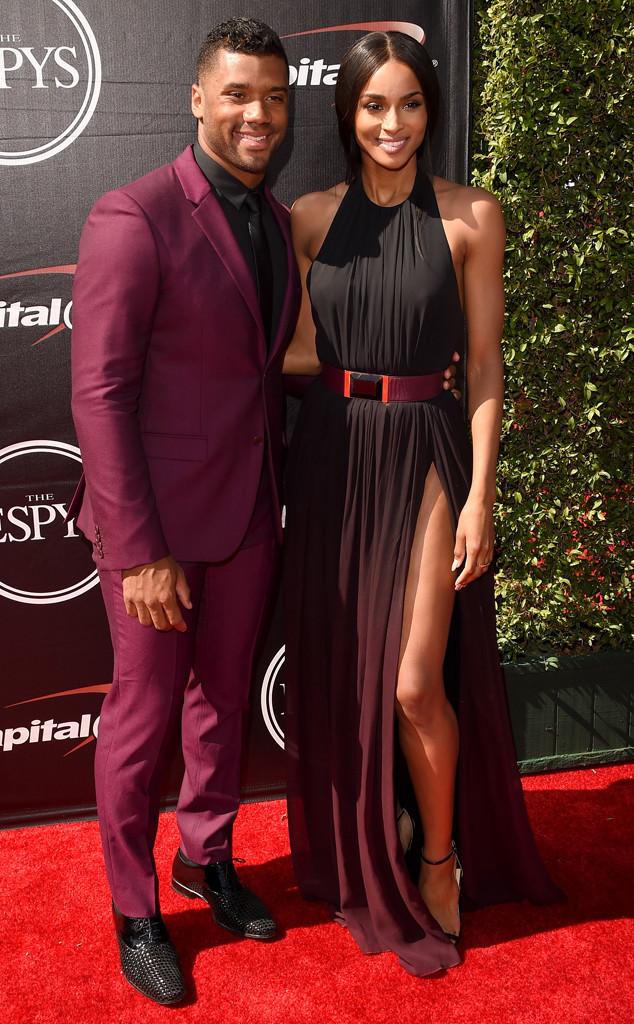 Russell Wilson, Ciara, ESPY Awards