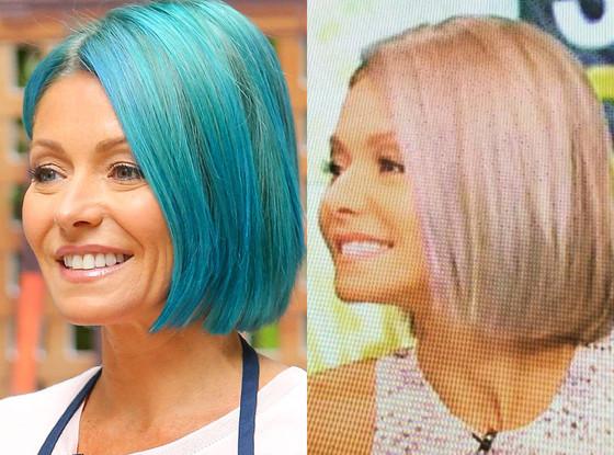 Kelly Ripa, Hair