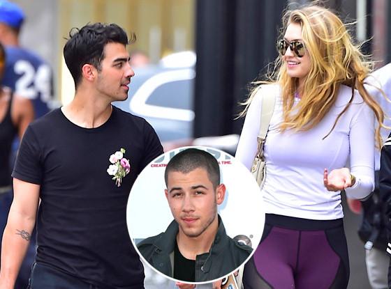 Gigi Hadid, Joe Jonas, Nick Jonas