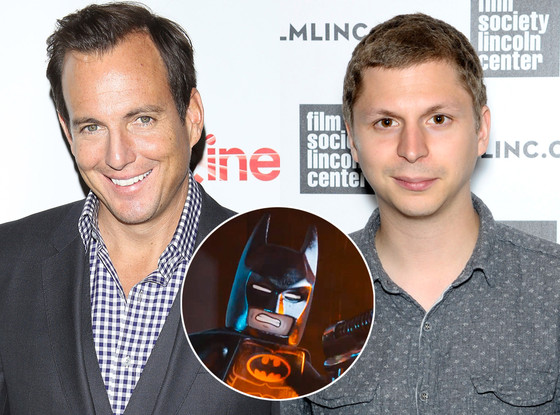 The Lego Movie, Will Arnett, Michael Cera, Batman, Robin