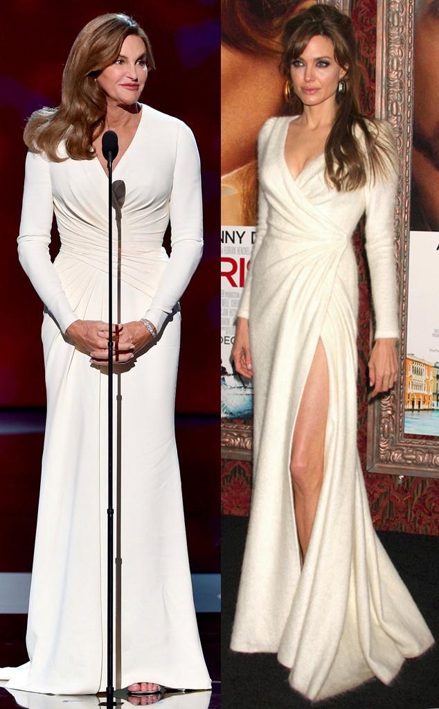 Caitlyn Jenner, ESPY Awards, Angelina Jolie, Versace
