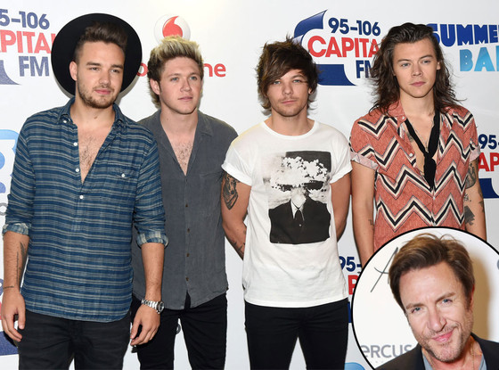 Simon Le Bon, Liam Payne, Niall Horan, Louis Tomlinson, Harry Styles, One Direction