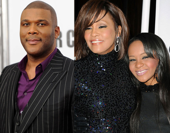Tyler Perry, Whitney Houston, Bobbi Kristina