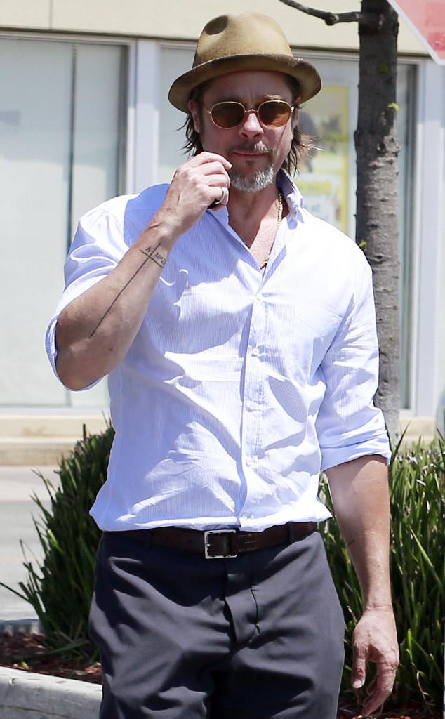 Brad Pitt, Tattoo