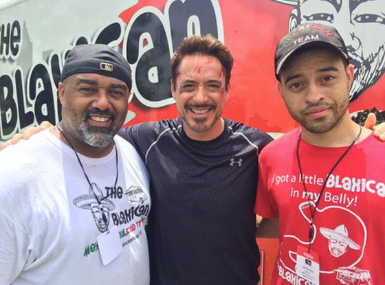 Robert Downey Jr., William Turner, Blaxican food truck