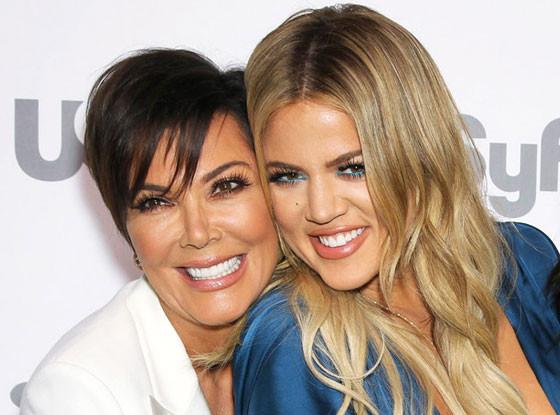 Kris Jenner, Khloe Kardashian, NBC Upfronts