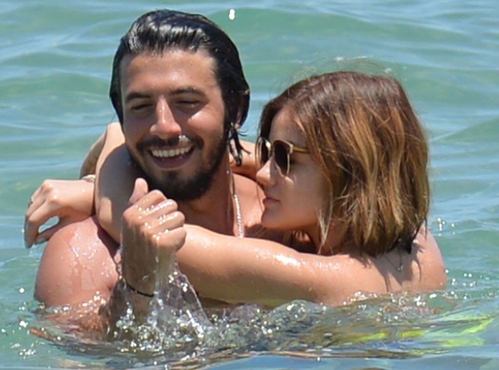 Lucy Hale, Anthony Kalabretta, PDA