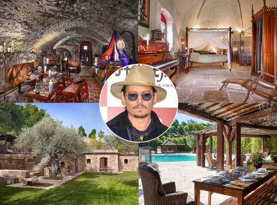 Johnny Depp, French Real Estate