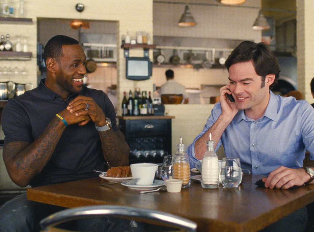 LeBron James, Bill Hader, Trainwreck