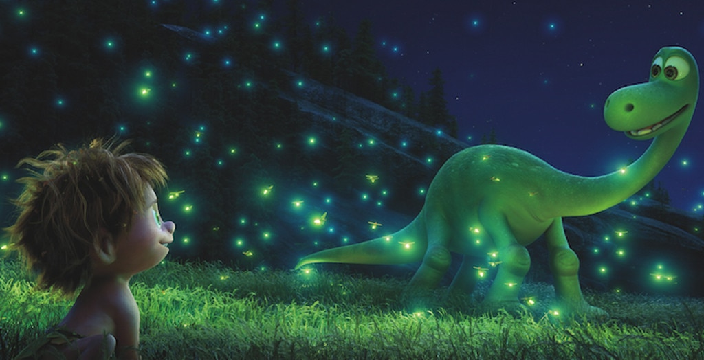 19. The Good Dinosaur  (2015) -  Arlo ( Raymond Ochoa ), the youngest of the Apatosaurus family, winds up miles from home after a rainstorm washes him downriver.