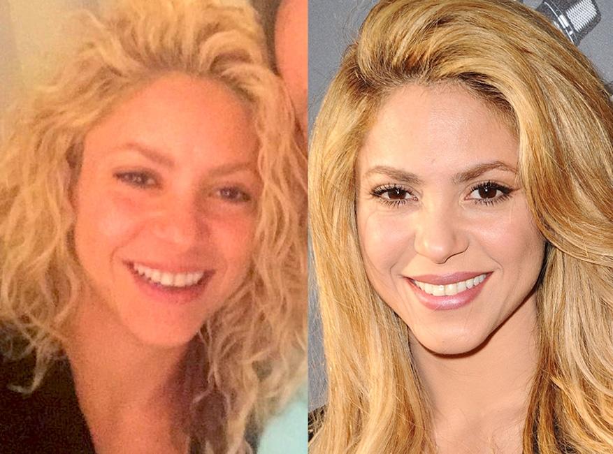 Shakira, No Make-Up