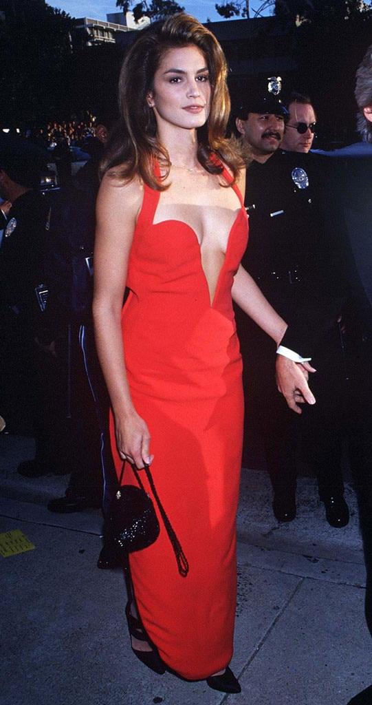 Cindy Crawford, Oscars, 1991