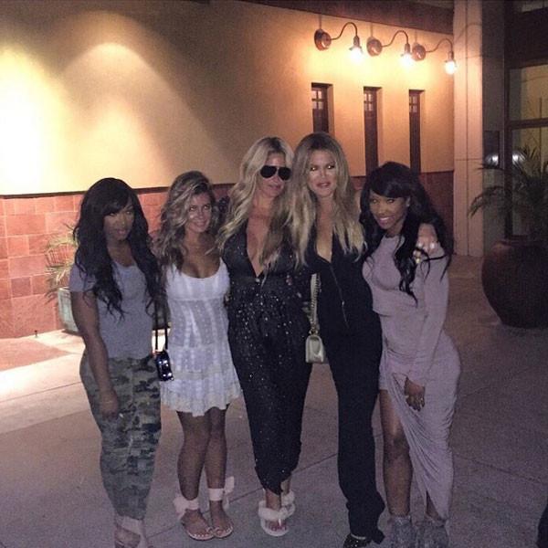 Kim Zolciak, Khloe Kardashian, Instagram