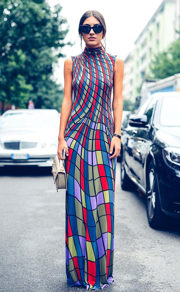 Street Style: Maxi Dresses