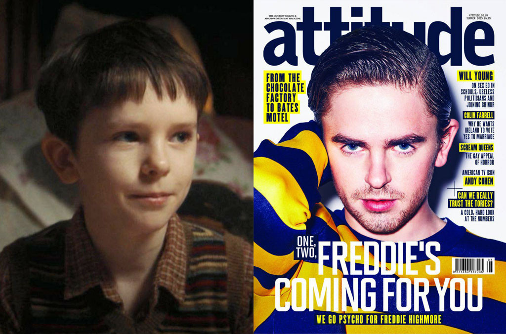 Freddie Highmore, Charlie and the Chocolate Factory, Attitude Magazine