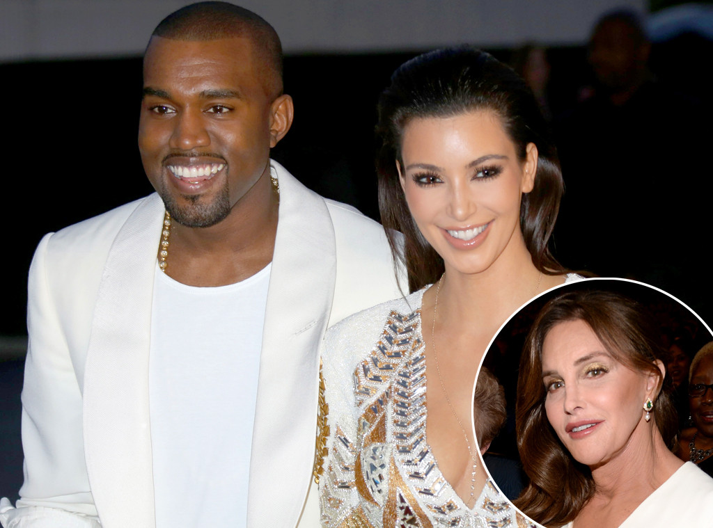 Kim Kardashian, Kanye West, Caitlyn Jenner