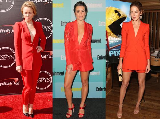 Michelle Monaghan, Lea Michele, Rachel McAdams