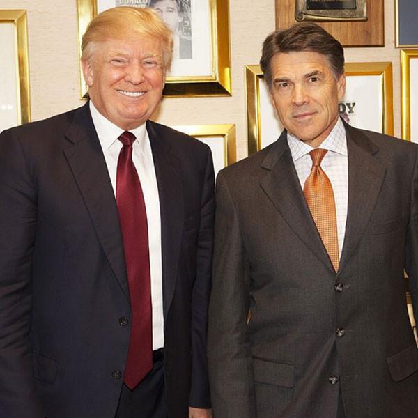 Donald Trump, Rick Perry Instagram