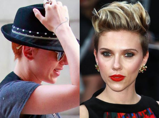 Scarlett Johansson, Hair