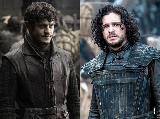 Iwan Rheon, Kit Harington, Game of Thrones