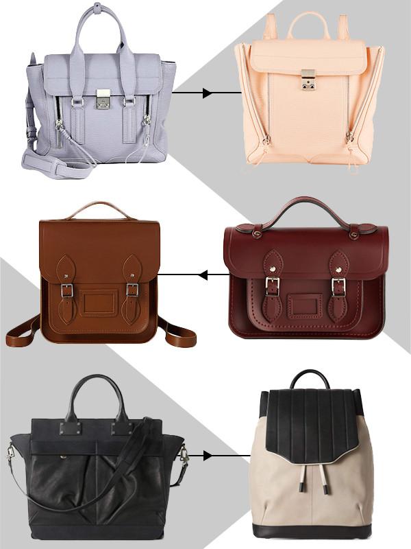 ESC, Backpacks