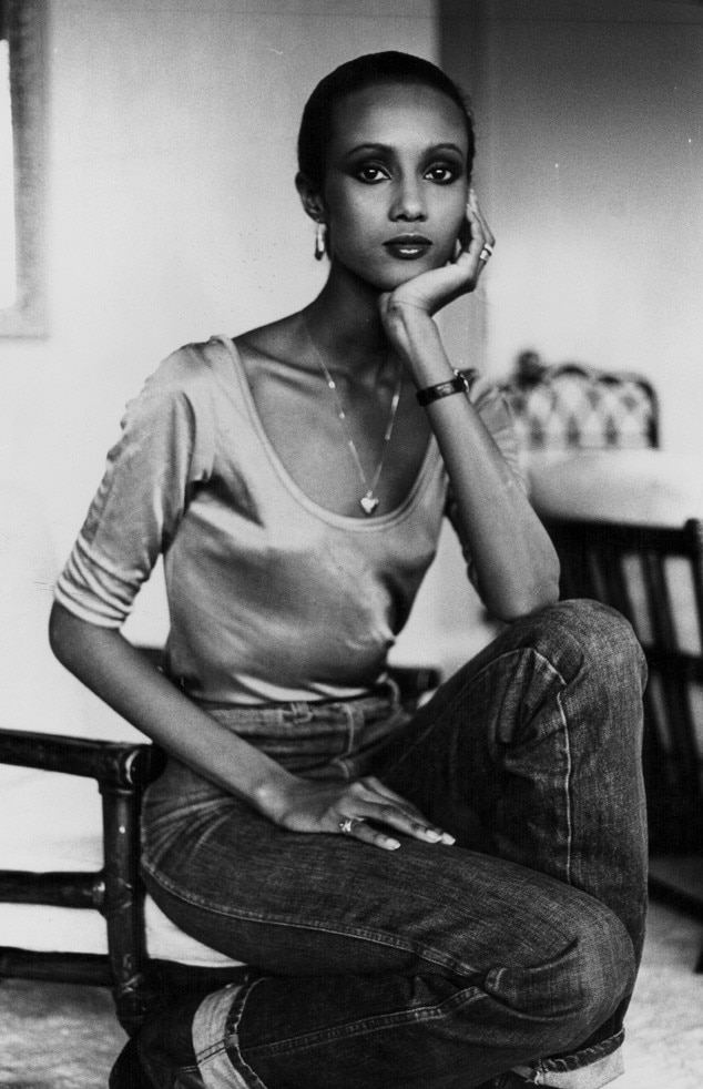 Models, Then and Now, Iman, 1979