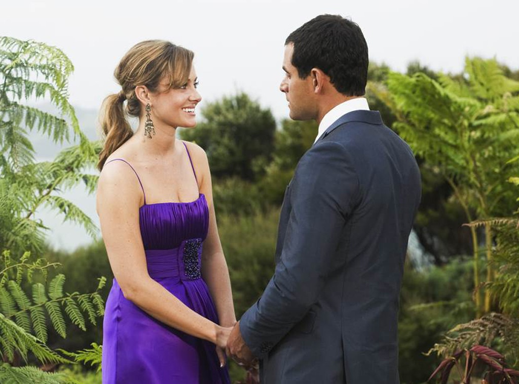 "Jason Mesnick,  The Bachelor , Season 13 -  At the end of season 13, Jason told Molly Malaney that he was ""in love with somebody else."" He later got engaged to Melissa Rycroft, but then decided that he changed his mind, ending the relationship with Melissa and getting back together with Molly."
