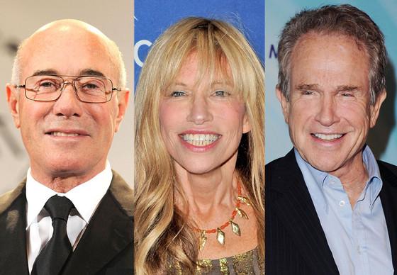 David Geffen, Carly Simon, Warren Beatty