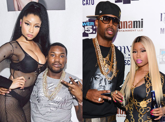 Nicki Minaj, Meek Mill, Nicki Minaj, Safaree Samuels