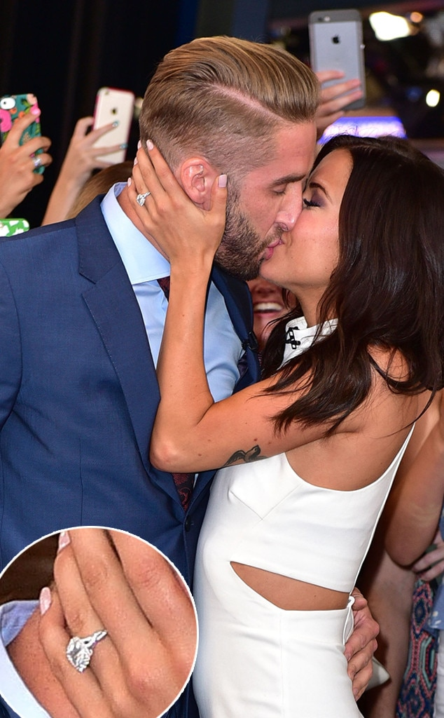 Shawn Booth, Kaitlyn Bristowe, Bachelorette engagement rings
