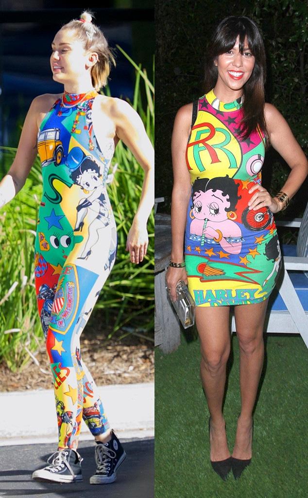 Miley Cyrus, Kourtney Kardashian