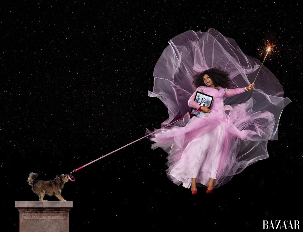 embargoed until 7/30 8am est- Oprah Winfrey, Harper's BAZAAR's ICONS By Carine Roitfeld