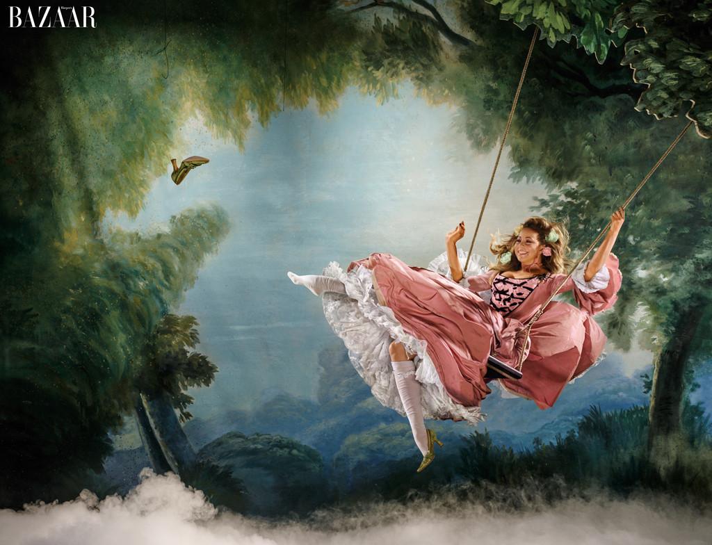 embargoed until 7/30 8am est- Mariah Carey, Harper's BAZAAR's ICONS By Carine Roitfeld
