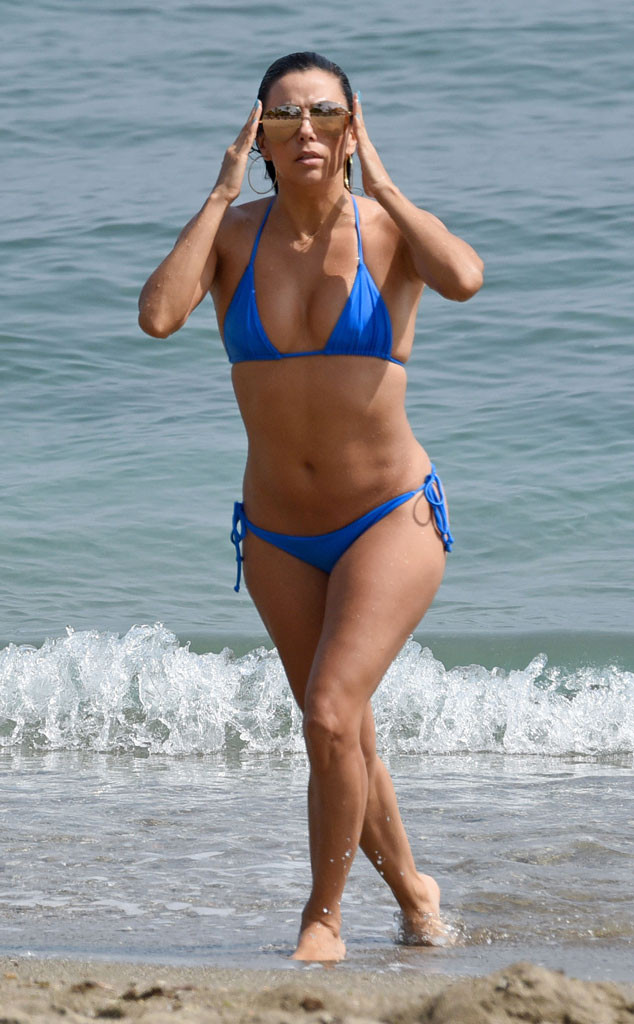 Eva Longoria, Blue Bikini