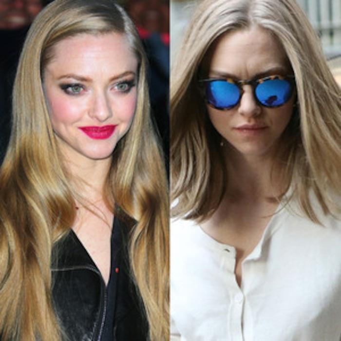 Whoa Amanda Seyfried Chops Off Her Long Blond Hairsee Her Shorter