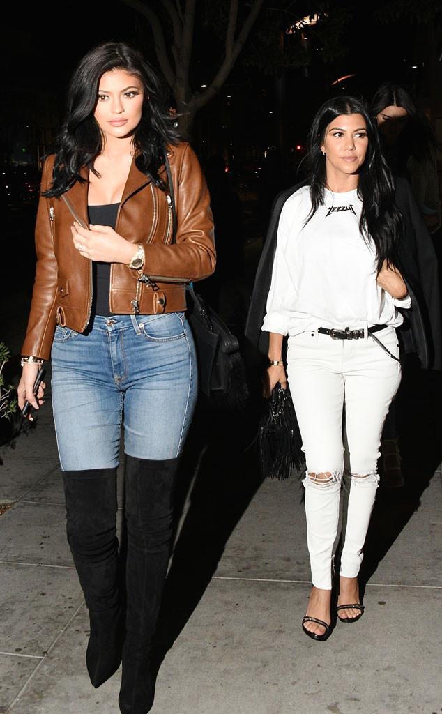 Kylie Jenner, Kourtney Kardashian