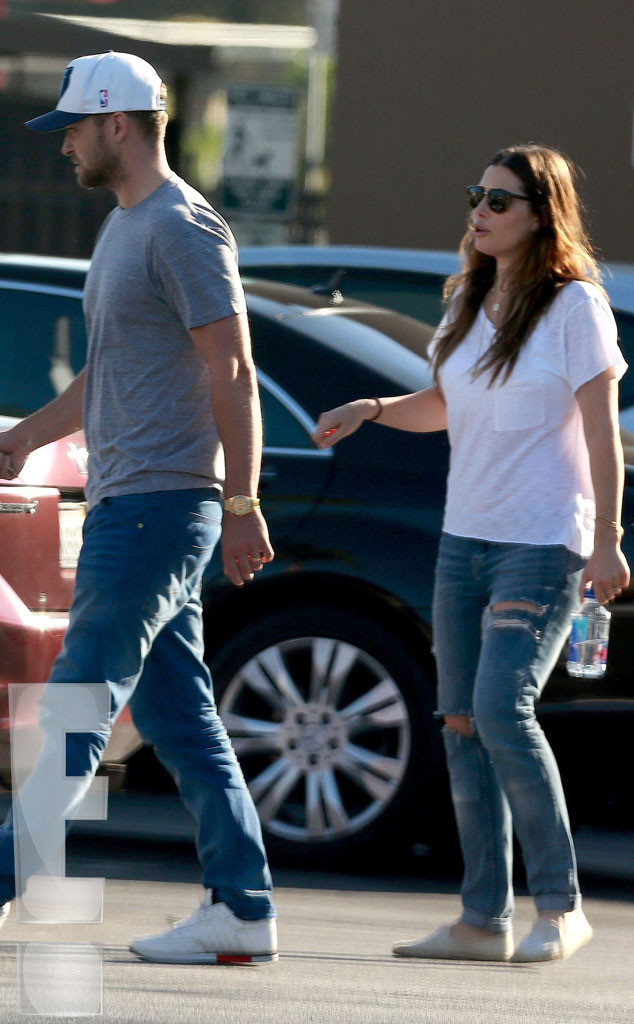 Justin Timberlake, Jessica Biel, First Photo Together Since Baby Silas, Exclusive