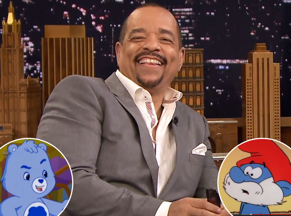 Ice T, Grumpy Bear, Papa Smurf, Tonight Show
