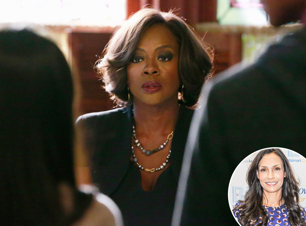 Viola Davis, How to Get Away with Murder, Famke Janssen