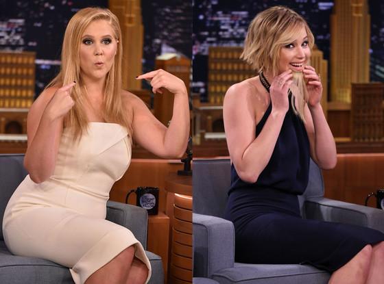 Amy Schumer, Jennifer Lawrence, Tonight Show