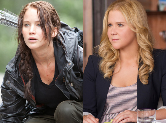 Jennifer Lawrence, Amy Schumer, Hunger Games, Trainwreck