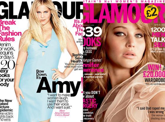 Amy Schumer, Jennifer Lawrence
