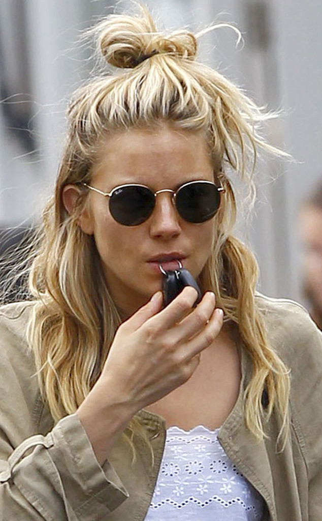 Sienna Miller, Lazy Hair