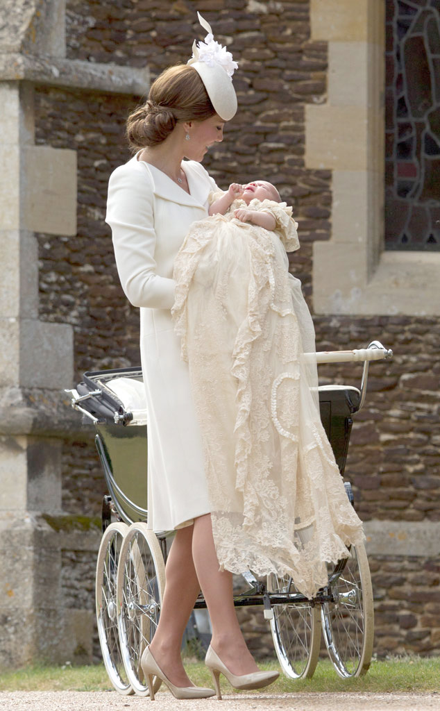 Duchess of Cambridge, Princess Charlotte, Christening