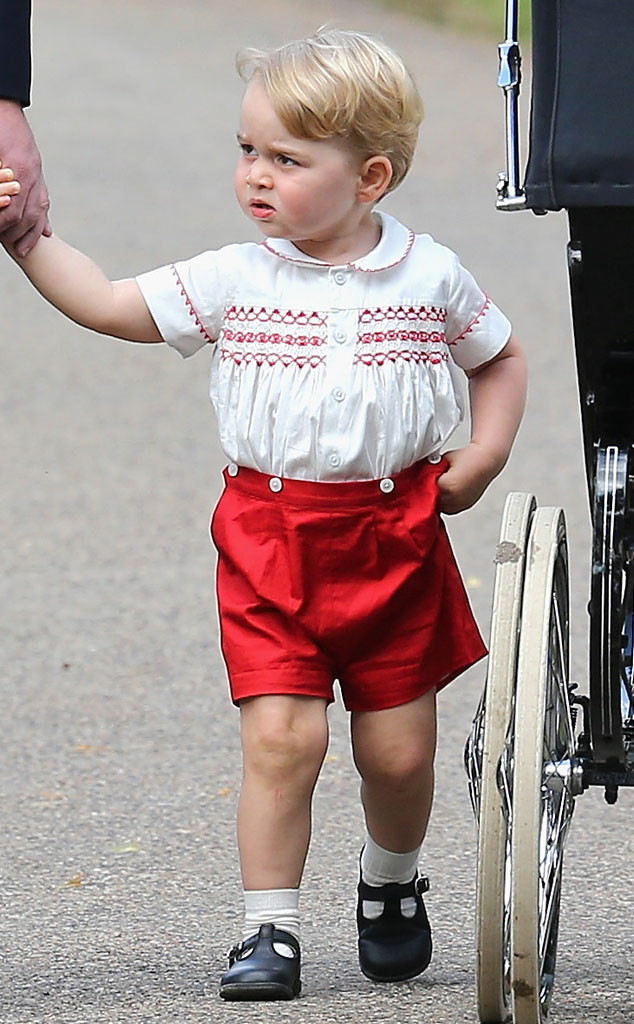 Prince George, Christening