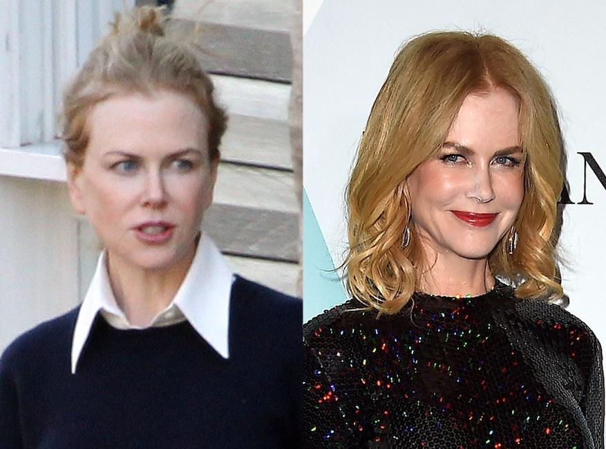 Nicole Kidman, No Makeup