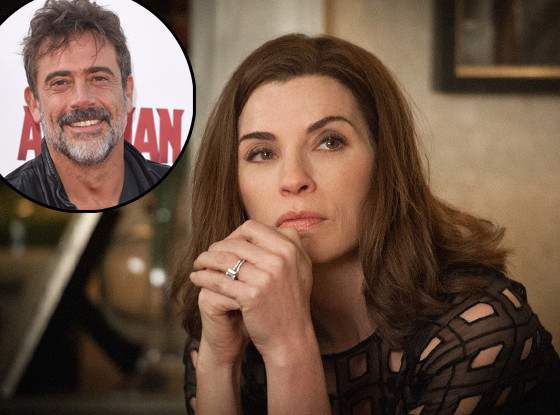 Julianna Margulies, The Good Wife, Jeffrey Dean Morgan
