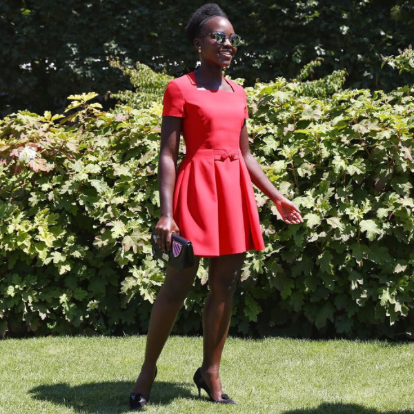 Lupita Nyong'o, Paris Fashion Week, Lanvin