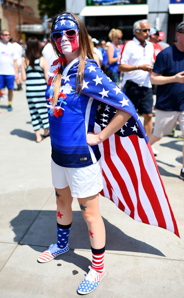 American World Cup fans