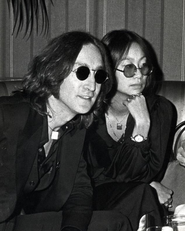 History of Sunglasses, John Lennon, Yoko Ono, ESC